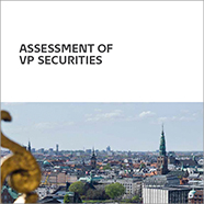Frontpage of the publication Assessment of VP Securities