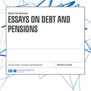 pensions dissertation Any use made of information contained in this thesis/dissertation must be in   this thesis studies the provision of public pension system through three different.