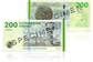 Link to photo of the 200-krone banknote