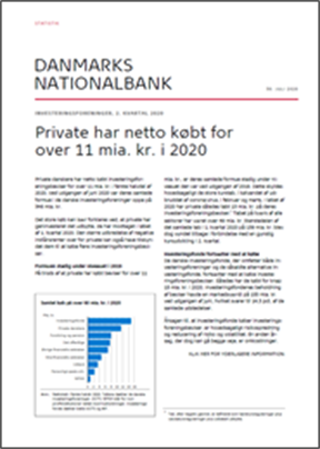 Private har netto købt for over 11 mia. kr. i 2020