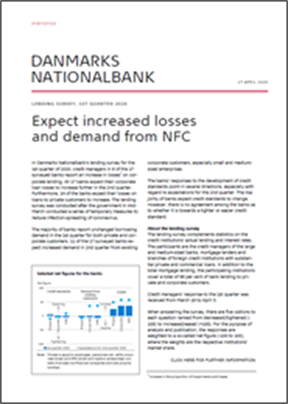 Expect increased losses and demand from NFC
