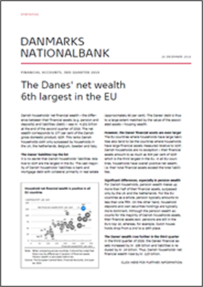 The Danes' net wealth 6th largest in the EU
