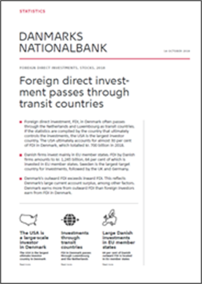 Foreign direct investment passes through transit countries