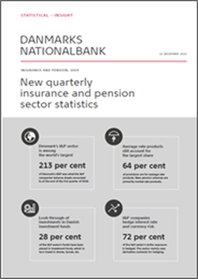 New quarterly insurance and pension sector statistics