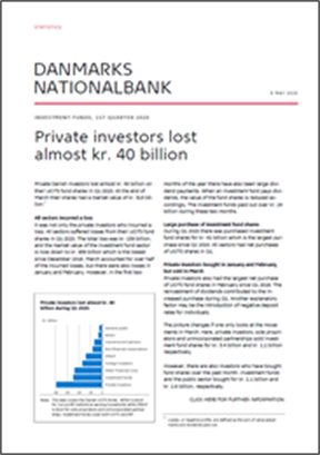 Private investors lost almost kr. 40 billion