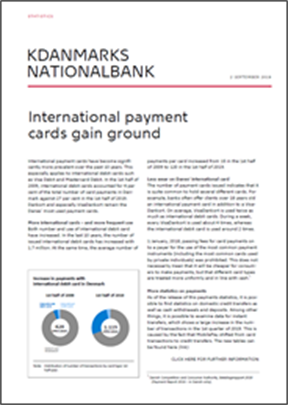 International payment cards gain ground