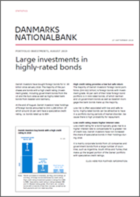 Large investments in highly-rated bonds