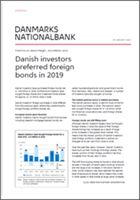 Danish investors preferred foreign bonds in 2019